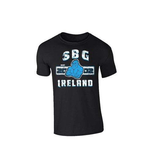 SBG IRELAND GORILLA WAR WEAR EMBLEM T SHIRT - MIDNIGHT BLACK