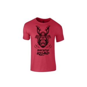 SBG IRELAND GORILLA WAR WEAR SAMURAI T SHIRT - CARMINE RED