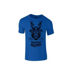 KIDS SBG IRELAND GORILLA WAR WEAR SAMURAI T SHIRT - ARASHI BLUE